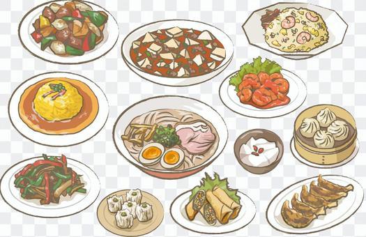 什錦中國食物