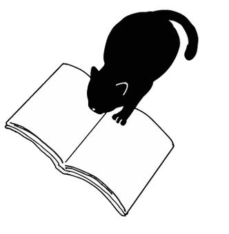 黑貓剪影閱讀