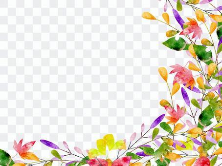 秋天彩色框架版本05
