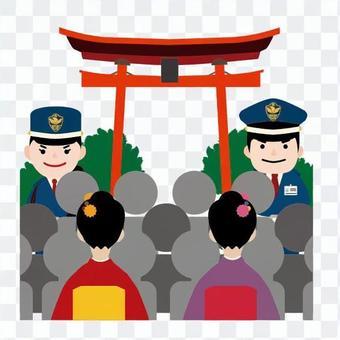 Venue security guard