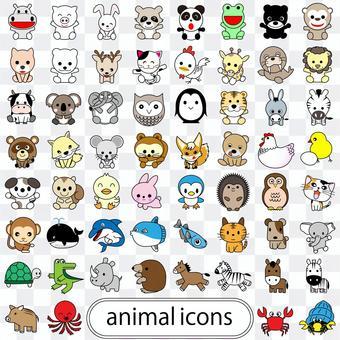60動物圖標集03