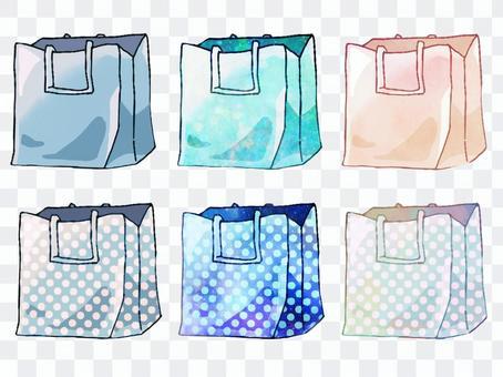各種紋理的可愛環保袋
