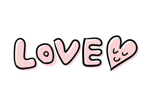 手繪【LOVE】人物