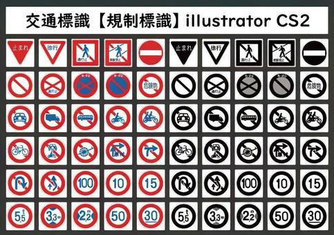 交通標識【規制標識】