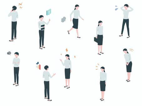 Isometric_Business_Person 07