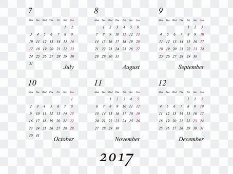 2017年日曆簡單版2-01