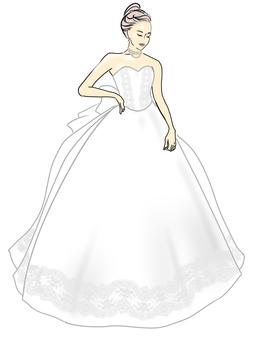 婚紗,公主