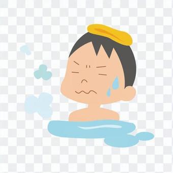 人们洗澡02