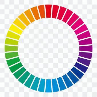 色環36種顏色(分)