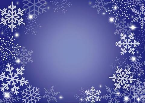 冬 背景 雪 青