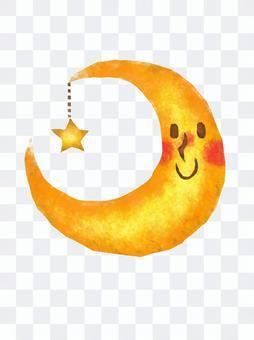 月亮和星星