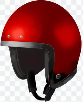 摩托車頭盔紅色