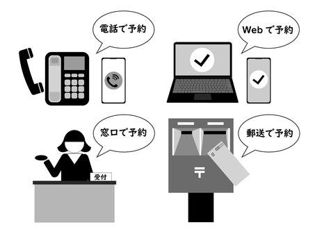 各種申請 預約受理/申請/申請2