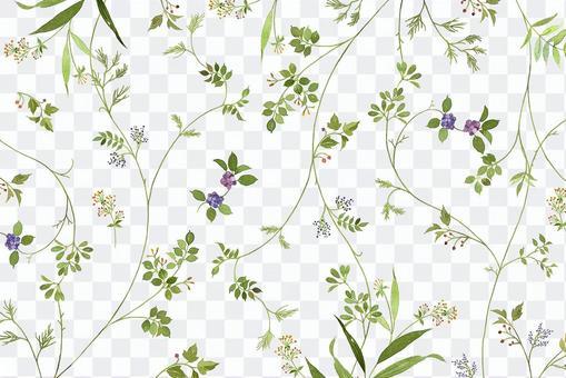 草花パターン