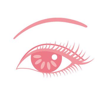 Glittering eyes