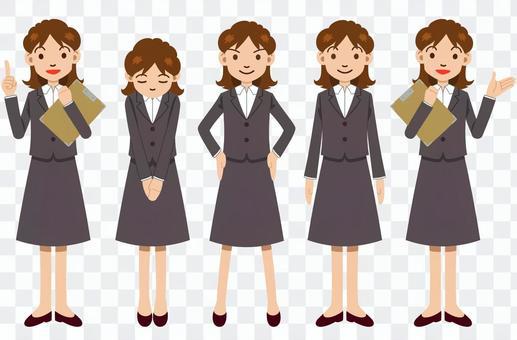 女員工構成