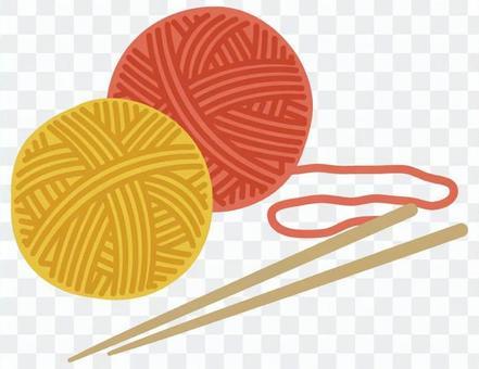 紗線和織針2