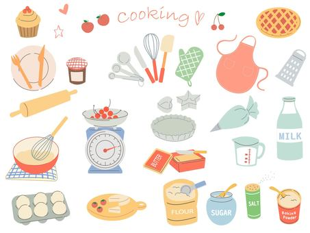 Cooking sweets making