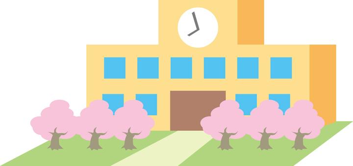 春天的學校