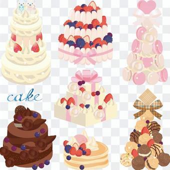 大厅蛋糕集