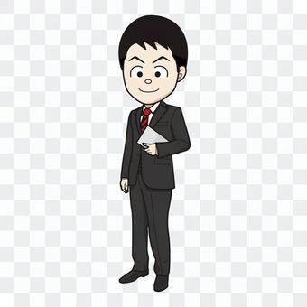 Office worker / bank employee / civil servant (male) 02