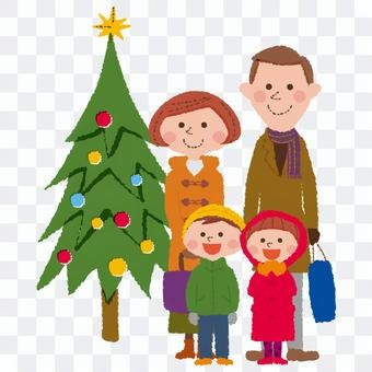 與家人的聖誕節