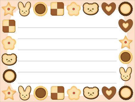 餅乾裝飾框架/框架