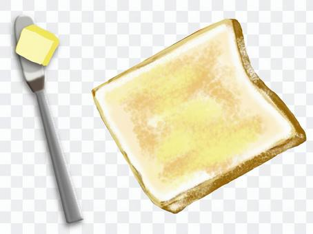 Butter the bread!