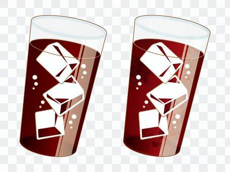 可樂咖啡圖