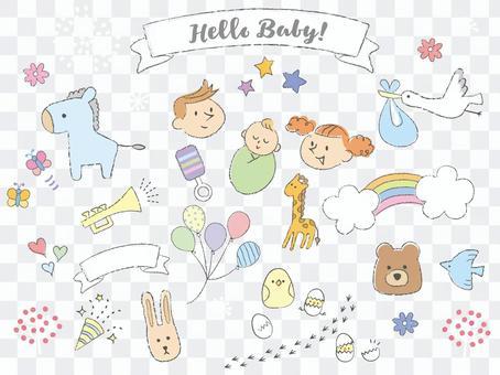 裝飾材料_handwriting_childbirth1