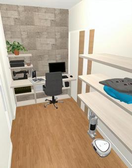 3LDK Floor plan ⑤ (3D cabin / household room)