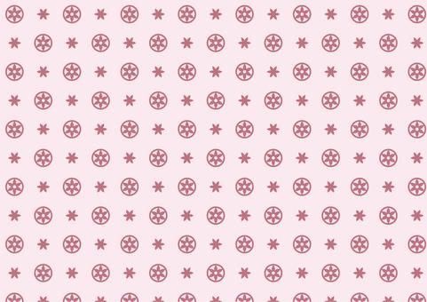 Modern floral pattern