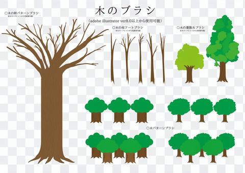 Brush series tree