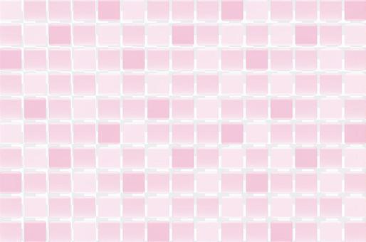 平鋪模式(粉紅色)