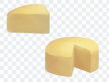 三角奶酪和缺失的圓形奶酪