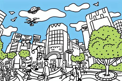 與澀谷相似的城市