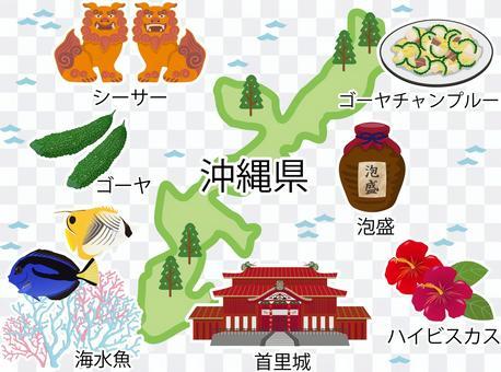 說到沖繩縣,帶有名稱的特色產品