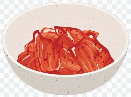 白菜キムチの小鉢