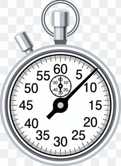 ストップウォッチ アナログ 計測 タイム