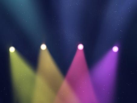 Spotlight live background illustration 2