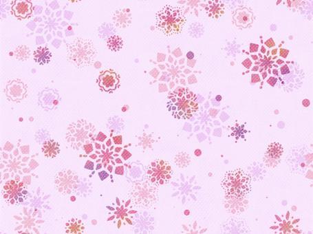 花朵圖案粉紅色