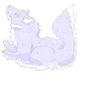 脾氣暴躁的紫狼