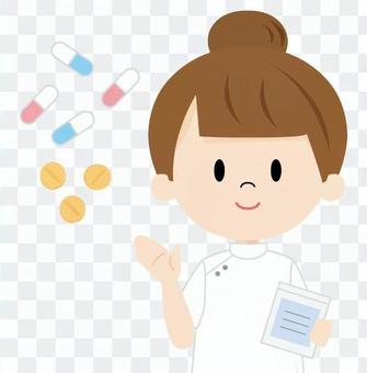 看護師(くすり)