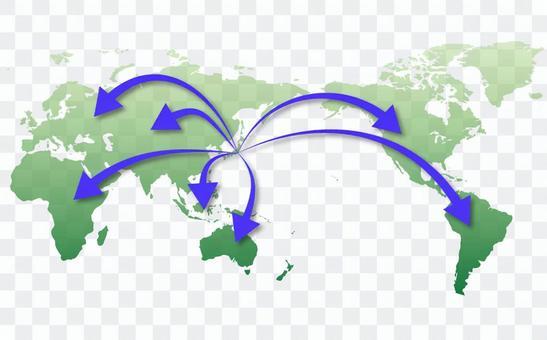 世界地圖⑥