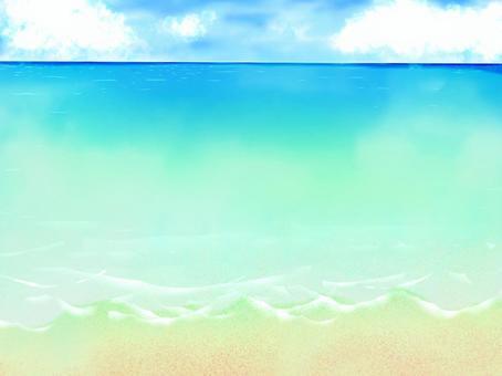 Sea sand beach background 2