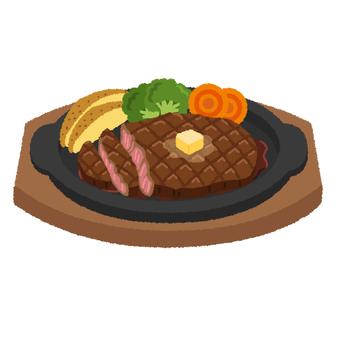 Steak illustration