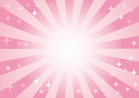 Concentrated Line Effect Line Sparkly Glitter Star Radiation Background