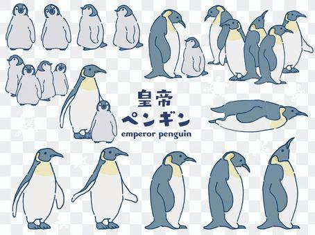 コウテイペンギン セット