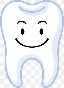 かわいい歯のキャラクター
