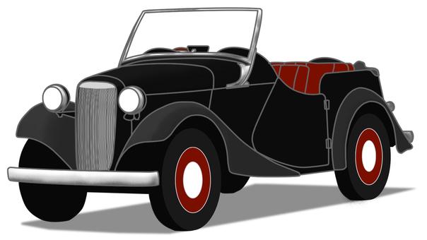 1940 年代黑色老爺車